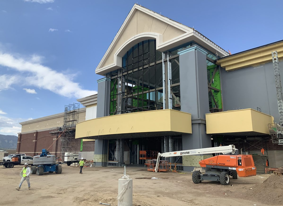 Scheels Colorado Springs Store Progresses